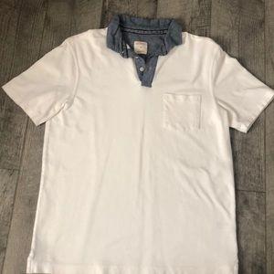3/$15 White Polo